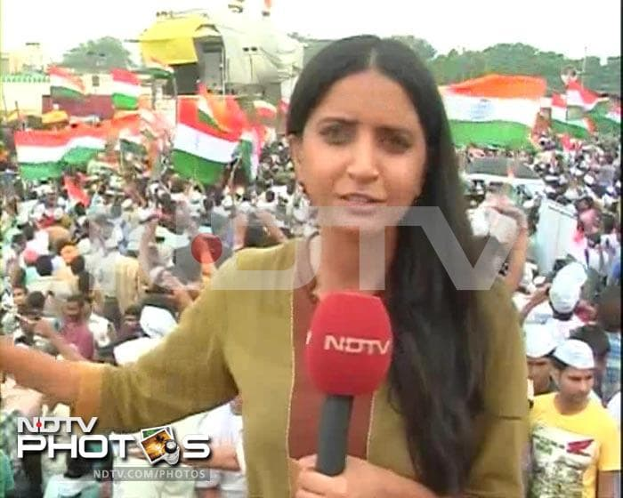 NDTV reporters on most memorable moments of Anna coverage