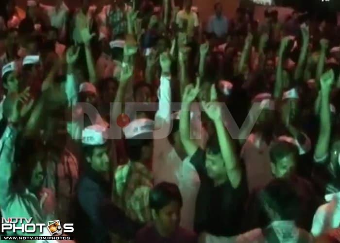 India celebrates victory over corruption