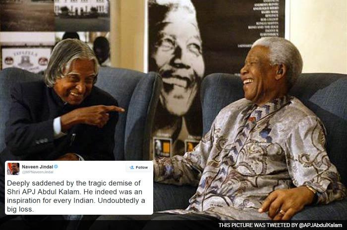 Tributes Flow in on Twitter for Former President APJ Abdul Kalam