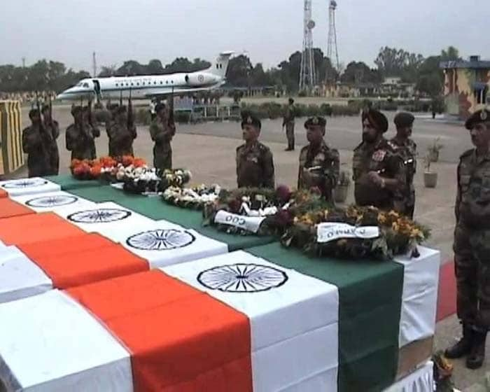 In pictures: India pays tribute to 5 martyrs