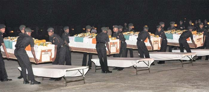 In pictures: India pays tribute to five martyrs