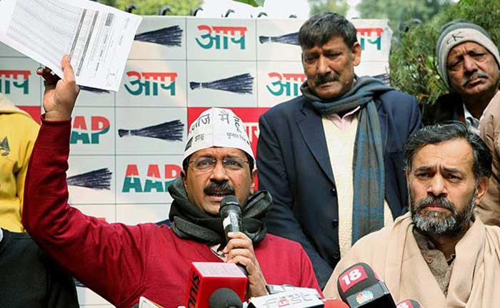 AAP\'s Arvind Kejriwal Has Focussed His Attacks on the BJP Ahead of the Delhi Assembly Elections