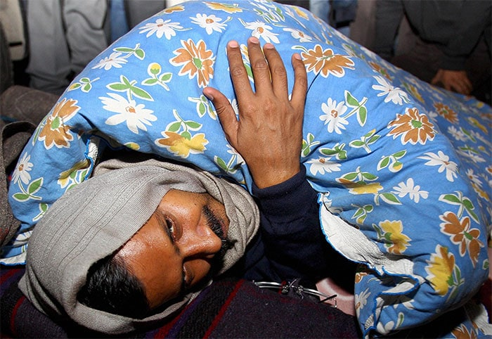 Day 2 of Delhi Chief Minister Arvind Kejriwal\'s \'dharna\'