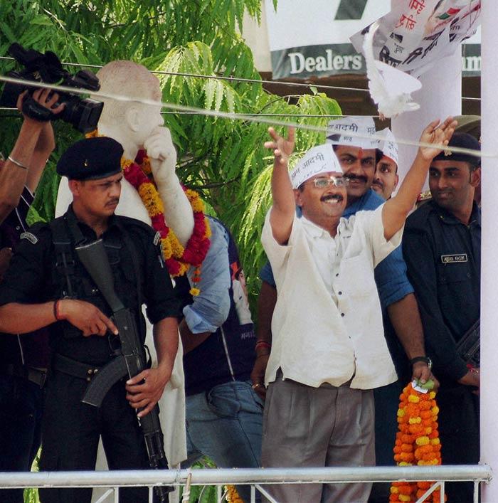 Arvind Kejriwal gears up for the big battle