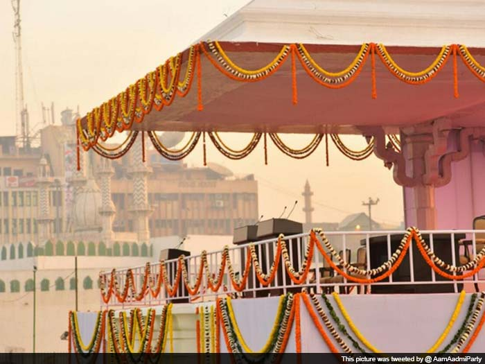 Delhi Preps for Arvind Kejriwal\'s Big Swearing In Ceremony