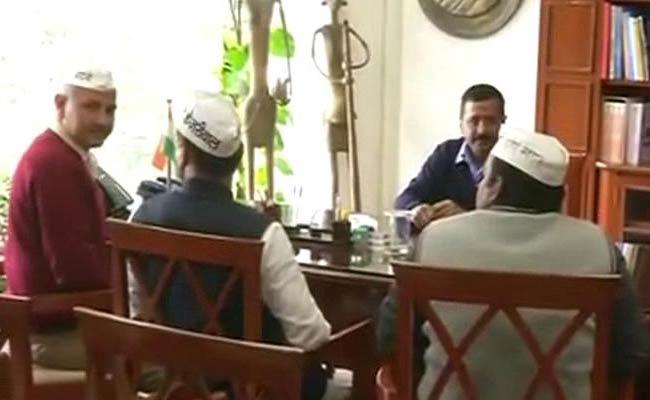Arvind Kejriwal\'s AAP In Charge