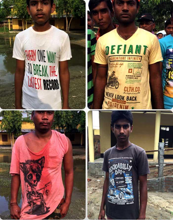 असम चुनाव: ये टी-शर्ट्स ही काफी कुछ कह देती हैं...