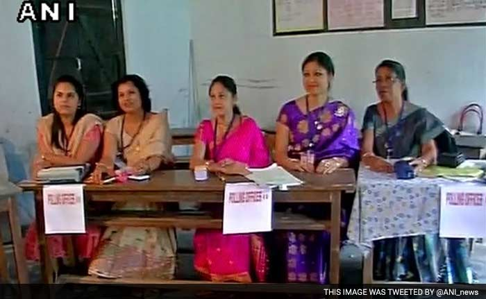 Pics: Polling Begins In West Bengal, Assam In First Phase Of Assembly Elections
