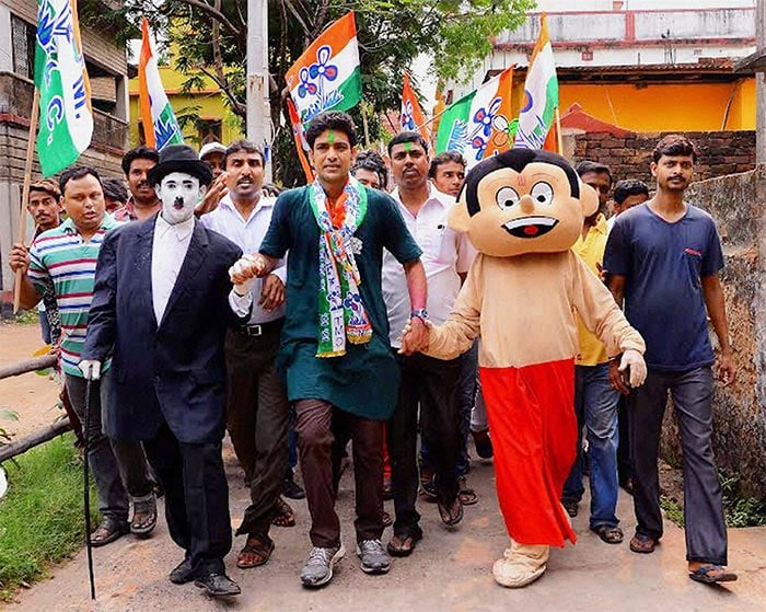 On The Assembly Election Campaign Trail, Chhota Bheem, Bodo Dance