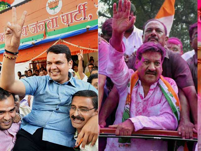 Photo : Big Winners and Losers in Maharashtra, Haryana Elections