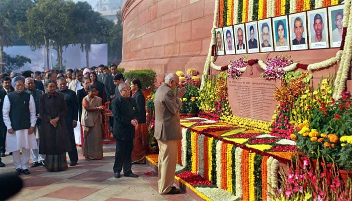 10 years of Parliament attack: Tribute to martyrs