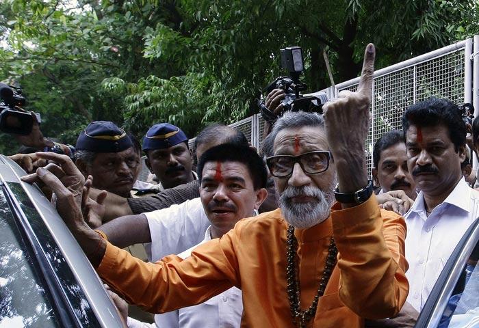 Bal Thackeray: Life in pics