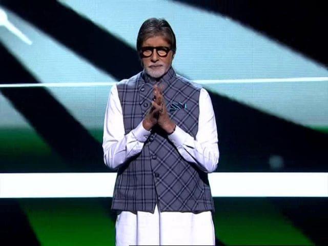 Photo : अमिताभ बच्चन ने की 'स्वस्थाग्रह' की शुरुआत, बोले-  स्वच्छ हवा, स्वच्छ पानी जरूरी
