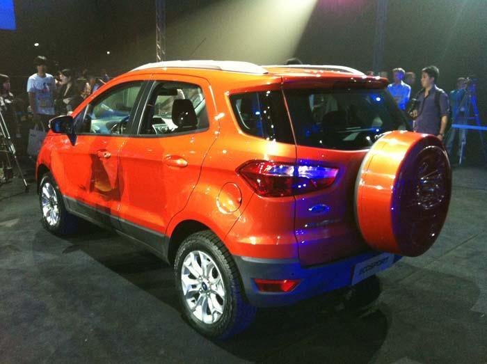 Ford EcoSport makes global debut at Beijing Motor Show