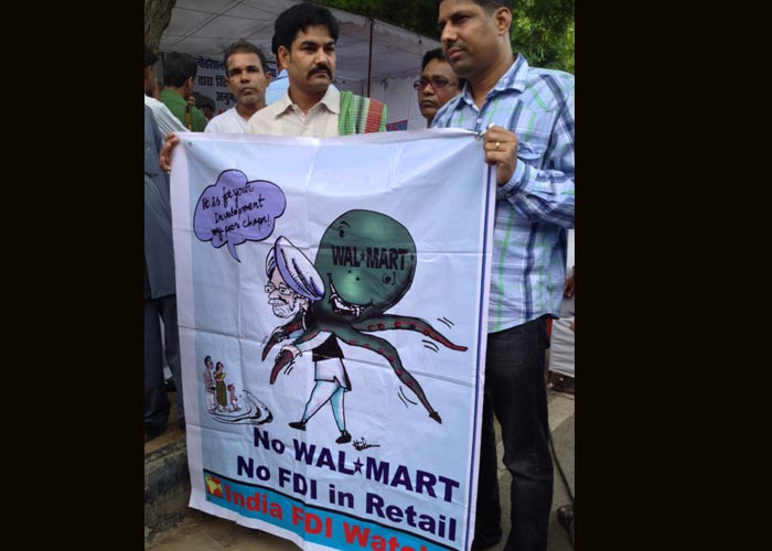 Bharat bandh over FDI in retail and diesel price hike