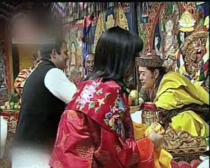 Rahul Gandhi meets Bhutan\'s King
