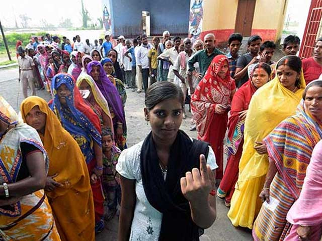 Photo : Bihar Election: Women Voters Outnumber Men in First Phase