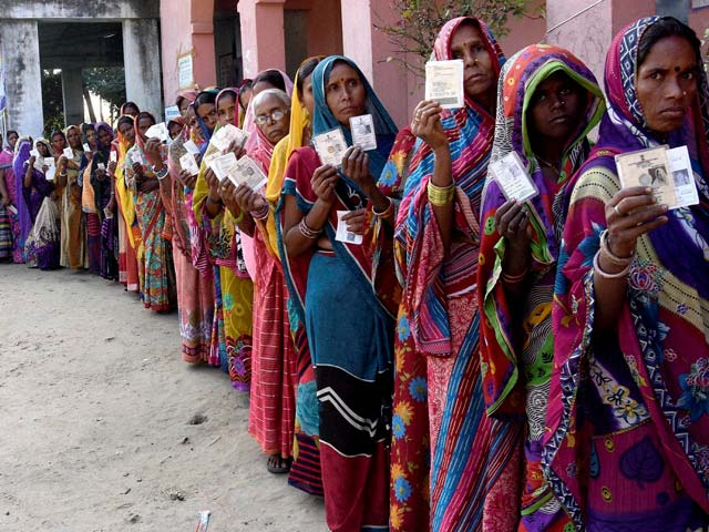 Photo : Bihar Elections: Over 57 Per Cent Voter Turnout Recorded in Fourth Phase