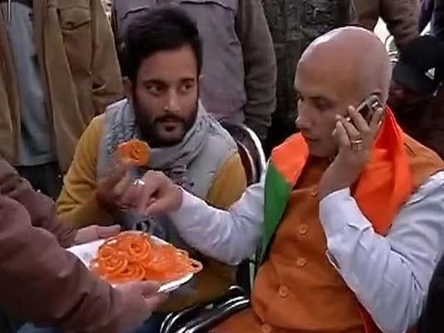 Photo : PDP, BJP Savour the Taste of Victory in Assembly Polls