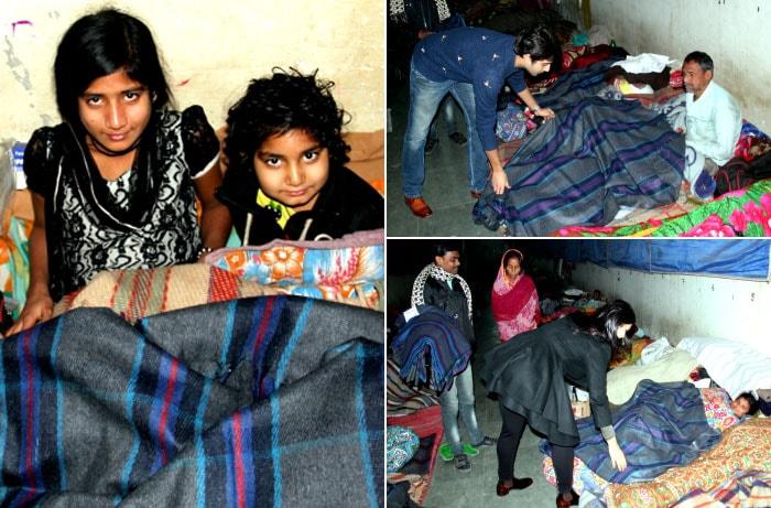 Blanket Donation Drive in Delhi