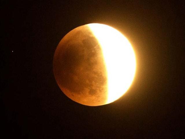 Photo : 'Blood moon' full lunar eclipse