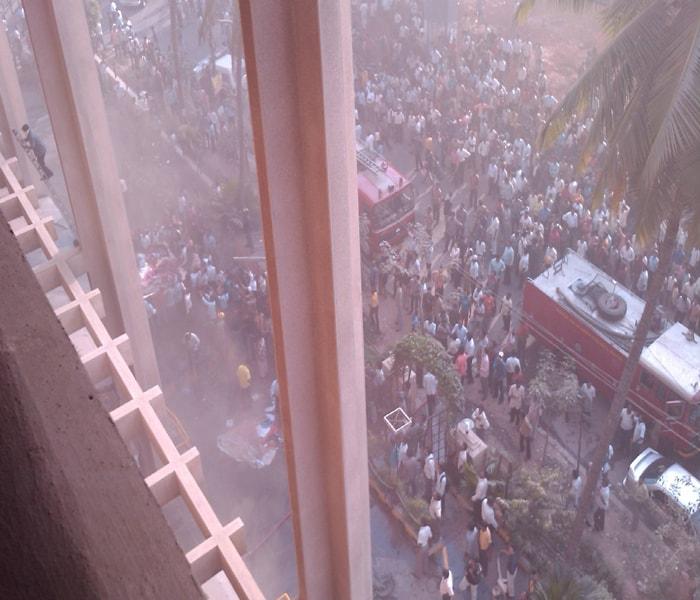 Fire at Bangalore\'s Carlton Towers