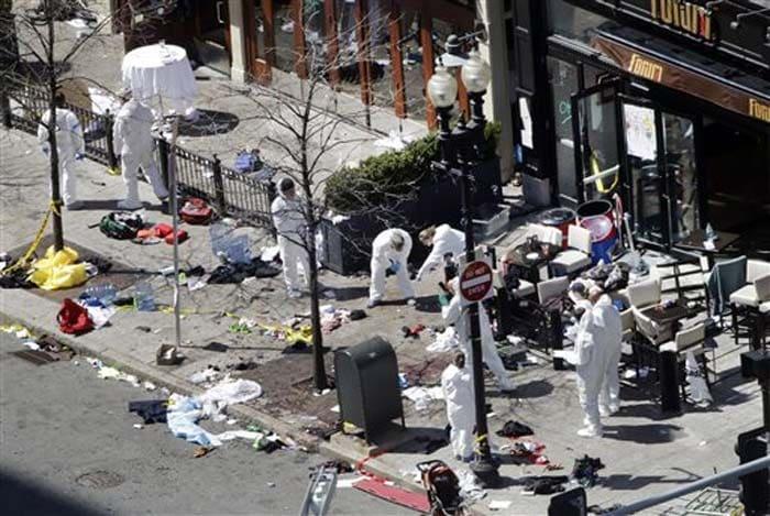 Boston Marathon blasts: three killed, several injured