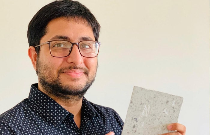 Remember The Face Mask You Tossed In A Dustbin? This 27-year-old Has Converted It Into A Brick