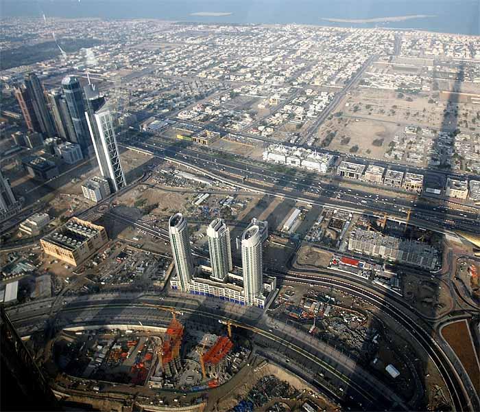 Burj Dubai, the world\'s tallest building