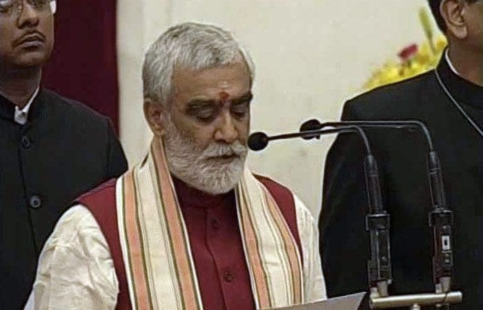 In Pics: Union Cabinet Reshuffle Swearing-In Ceremony