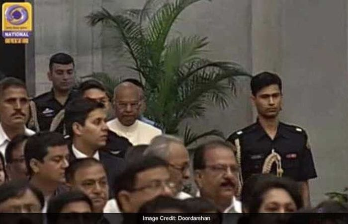 In Pics Union Cabinet Reshuffle Swearing In Ceremony
