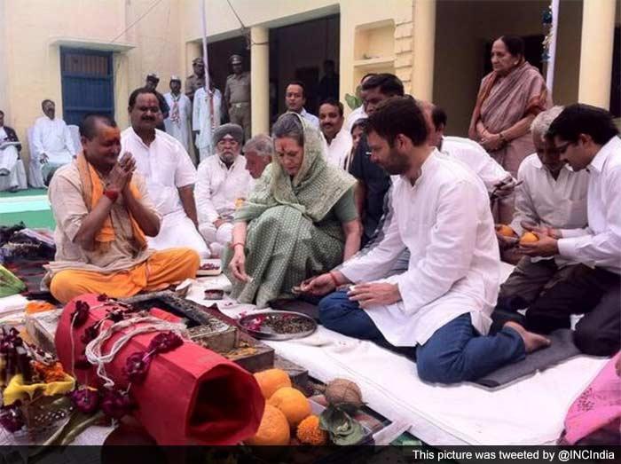 Photo : Candidates seek divine intervention ahead of polls