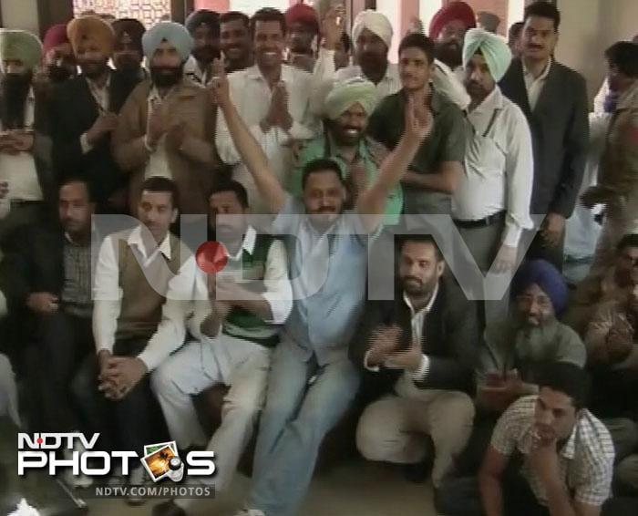 Shiromani Akali Dal celebrates