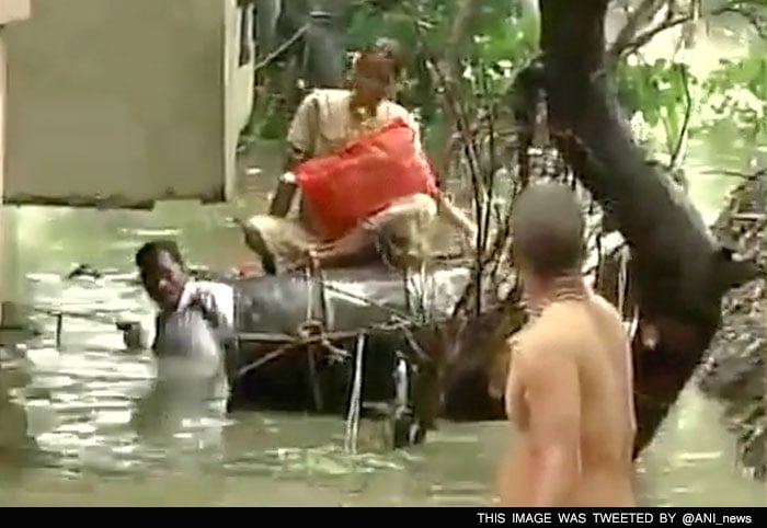 5 Pics: Chennai Submerged After Heavy Rains