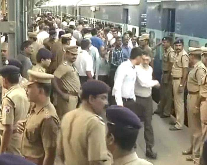Blasts at Chennai railway station