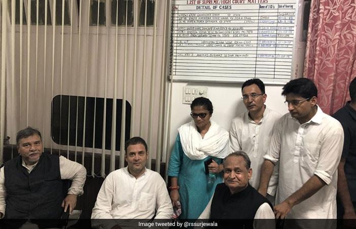 Pics: Rahul Gandhi, Congress Workers Protest Over CBI Row