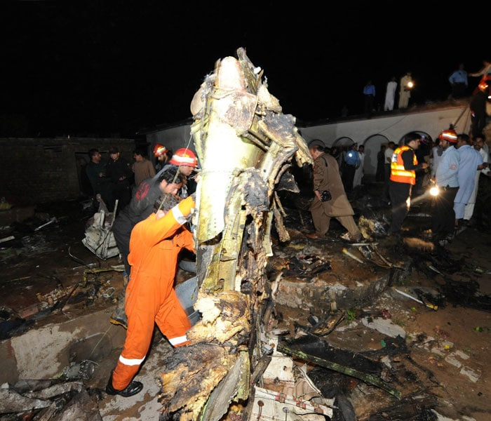 Weather Forecast Islamabad: First Pics: Plane Crashes Near Islamabad Airport, 127