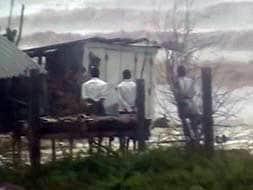 Photo : Cyclone Phailin: Heavy rain lashes Andhra Pradesh