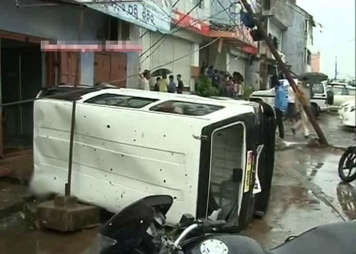 Cyclone Phailin: The morning after the storm