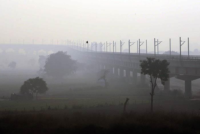 Smog Covers Delhi Post Diwali