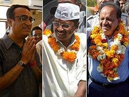 Photo : Elections 2014: Battle for Delhi