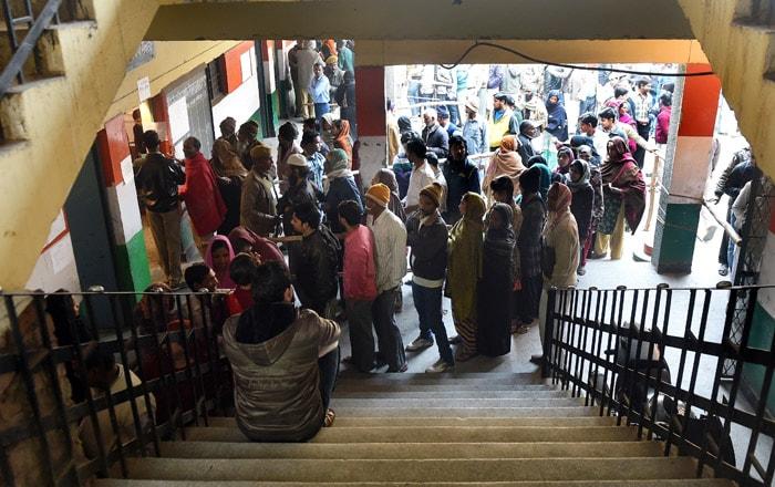 Delhi Votes For New Government