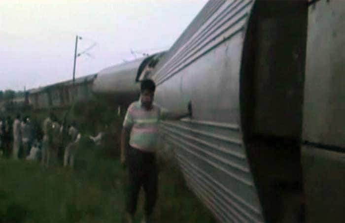 Delhi-Dibrugarh Rajdhani Express Derails in Bihar, Four Killed