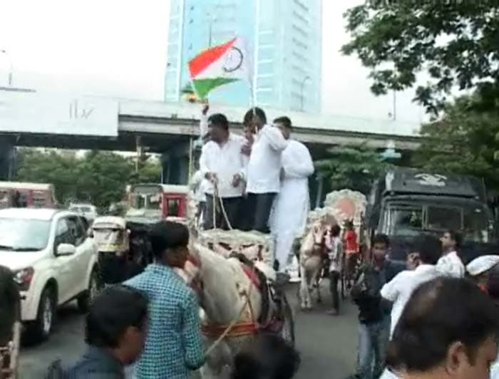 Diesel price hike: Protests across the country