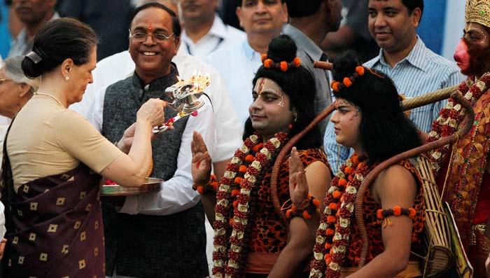 India celebrates Dussehra with fervour