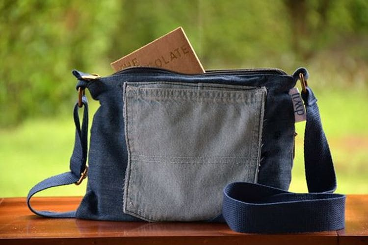 27-year-old Mumbai Woman Upcycles 2,500 Denims Into Daily Utility Items Like Bags, Clutches