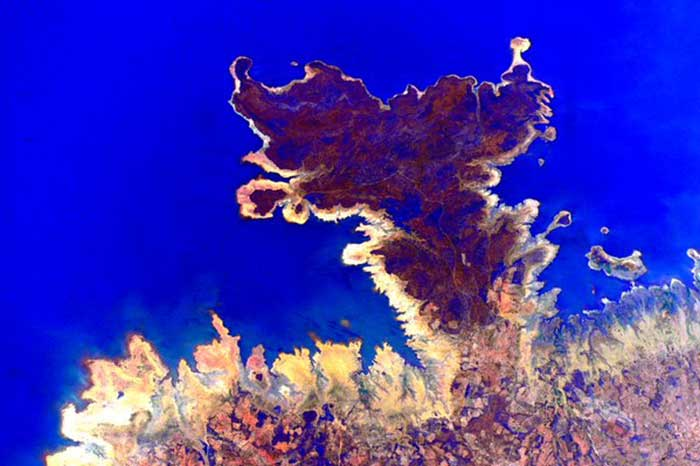These Pictures of Earth from Space Look Like Art