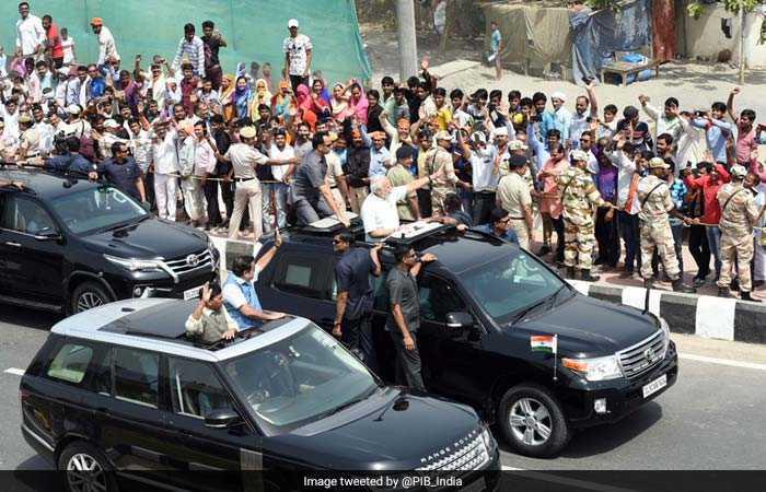 पीएम नरेंद्र मोदी ने किया दिल्ली-मेरठ एक्सप्रेसवे का उद्घाटन