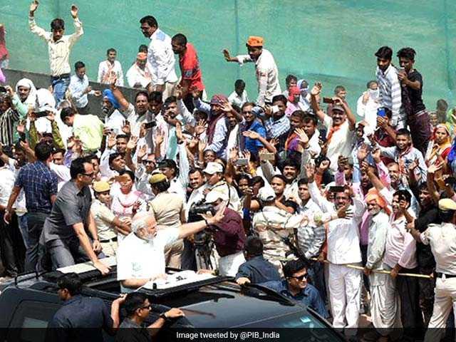 Photo : पीएम नरेंद्र मोदी ने किया दिल्ली-मेरठ एक्सप्रेसवे का उद्घाटन