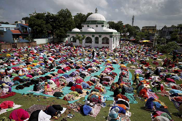 Pics: Eid al-Adha Celebrated Across India